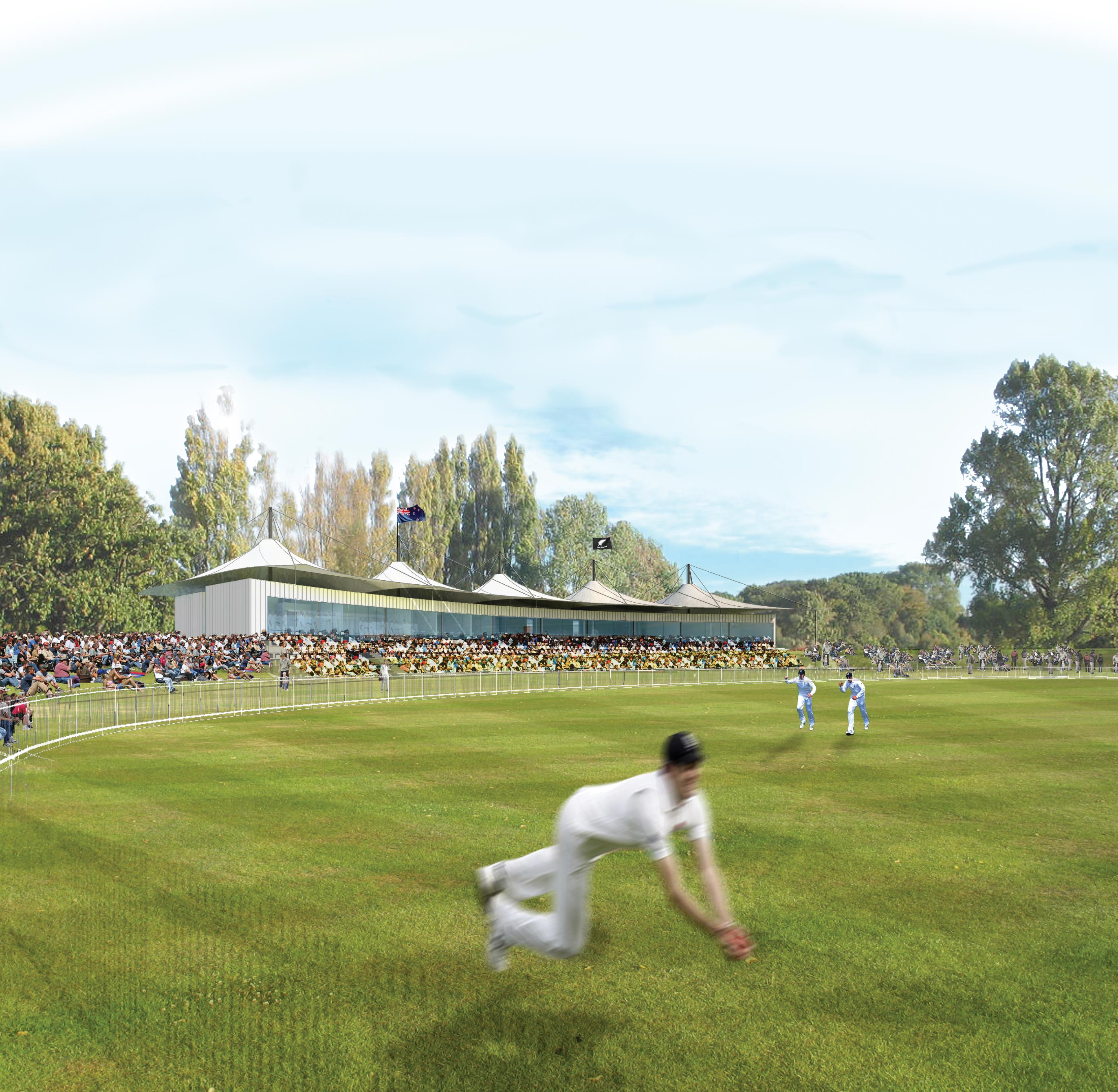 Hagley Oval to host Boxing Day test