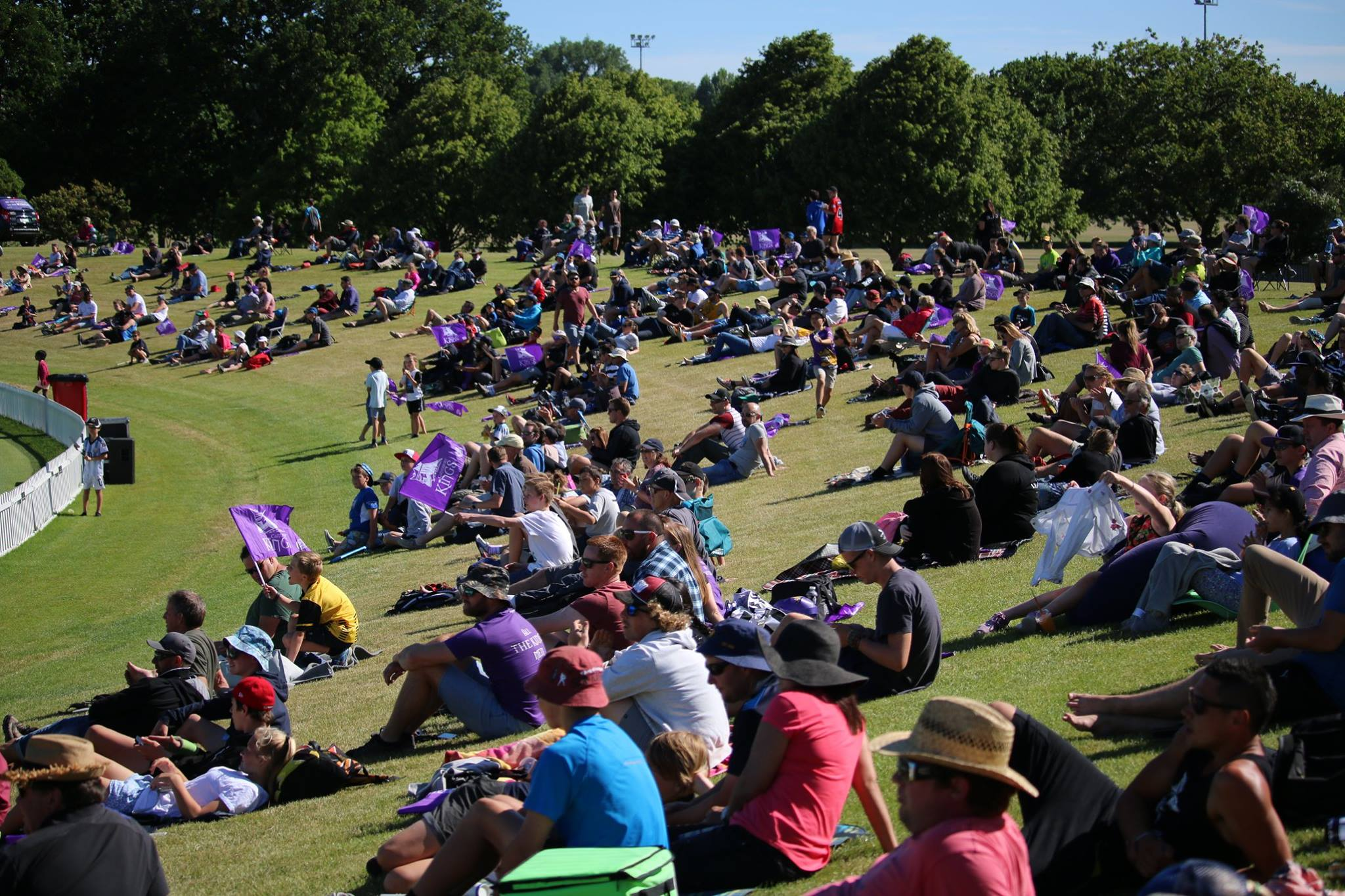 Final weekend of Canterbury Cricket at Hagley Oval for 2015