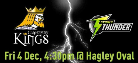 Canterbury Kings VS Sydney Thunder