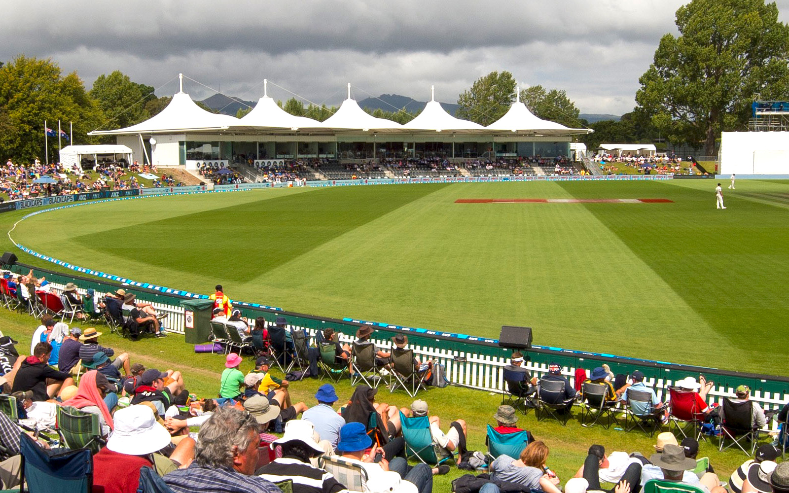 Pitch perfect for Hagley Oval turf management team