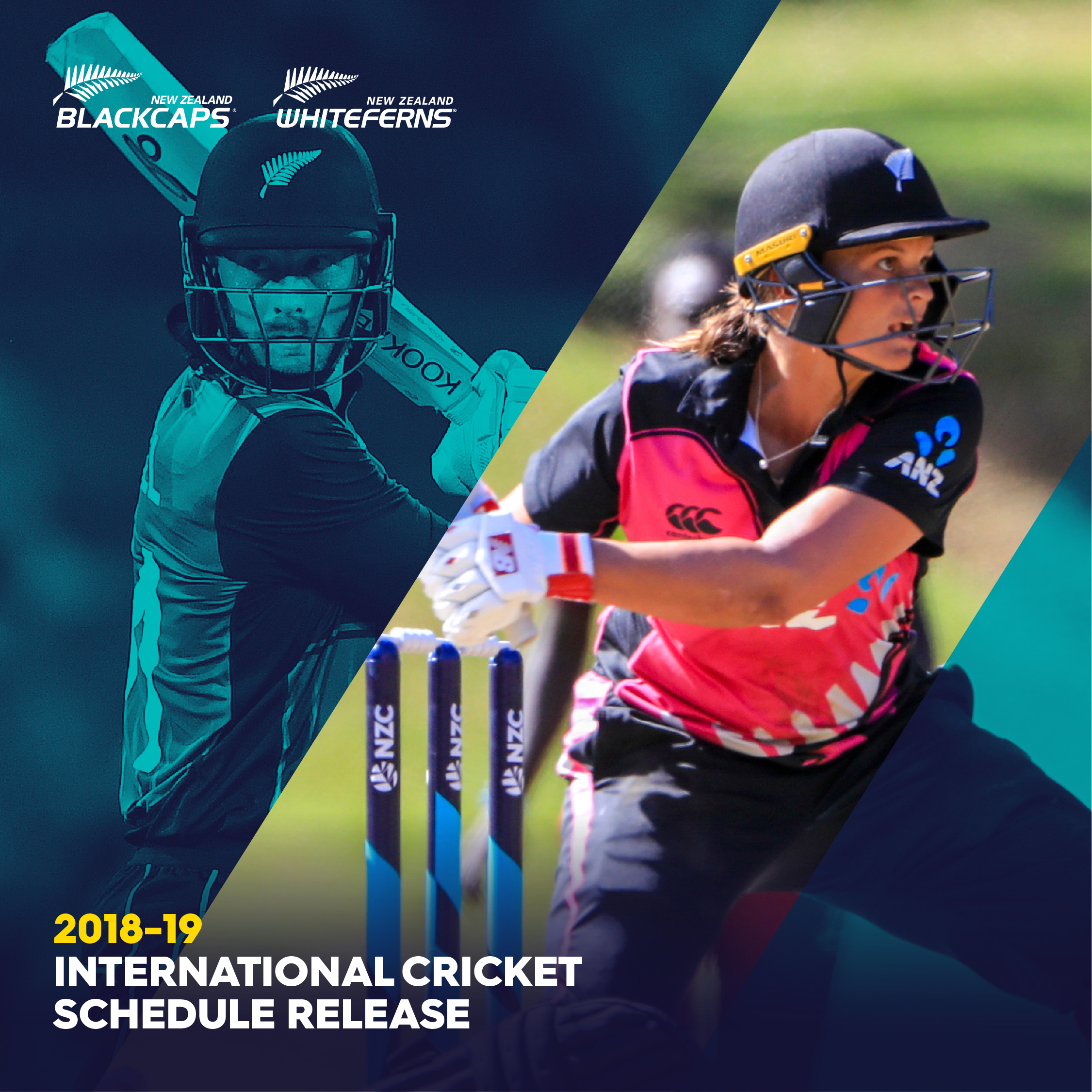 Blackcaps & White Ferns International Schedule 2018 – 19 season