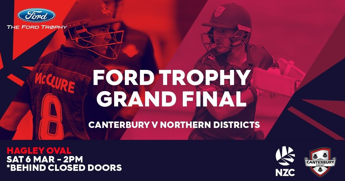Ford Trophy Grand Final   6th March 2021
