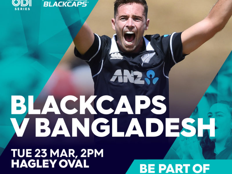 Blackcaps vs Bangladesh ODI   Date Change