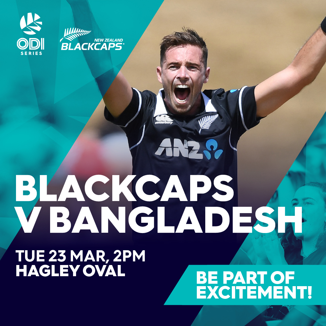 Blackcaps vs Bangladesh ODI   Date Change