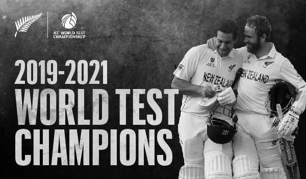 Blackcaps – World Test Champions