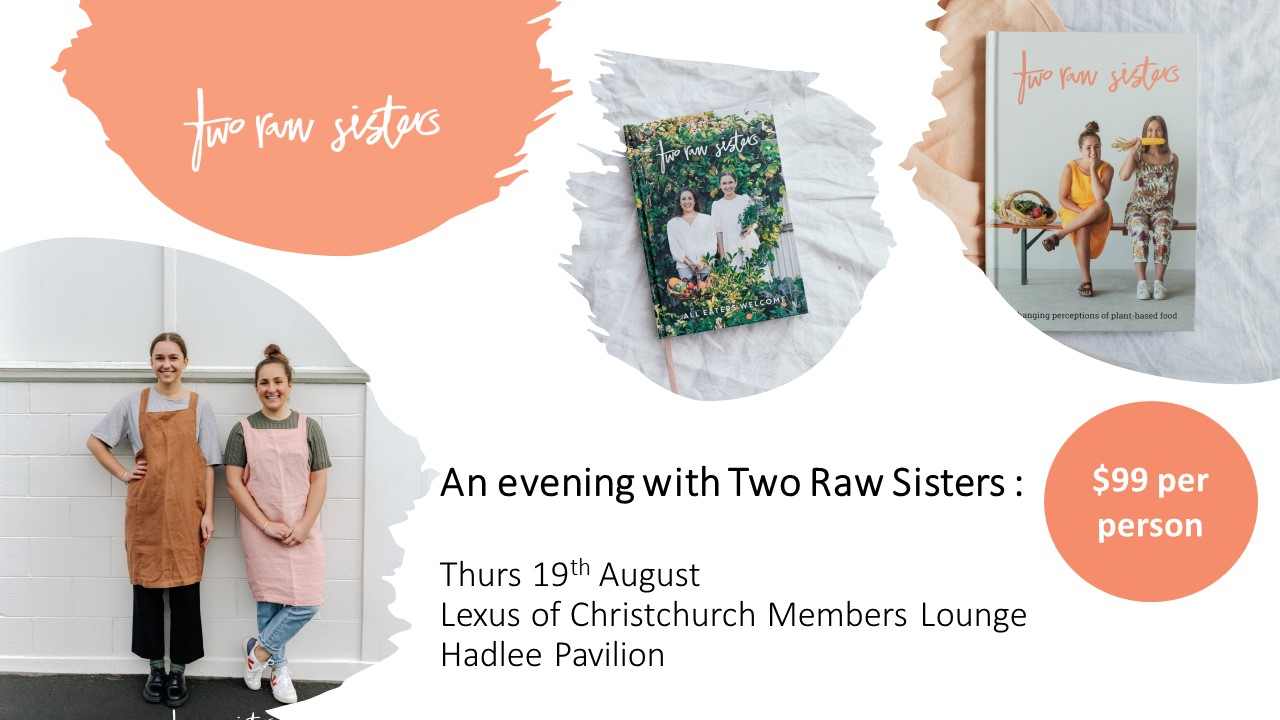 Hagley Oval Fundraiser with Two Raw Sisters