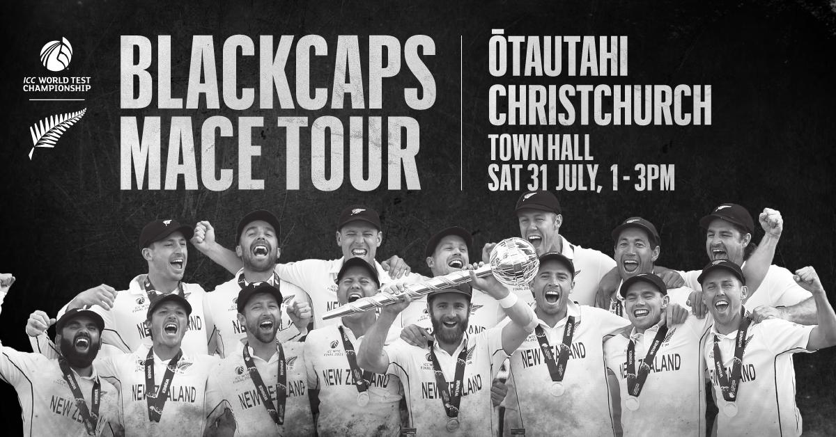 Blackcaps Mace Tour